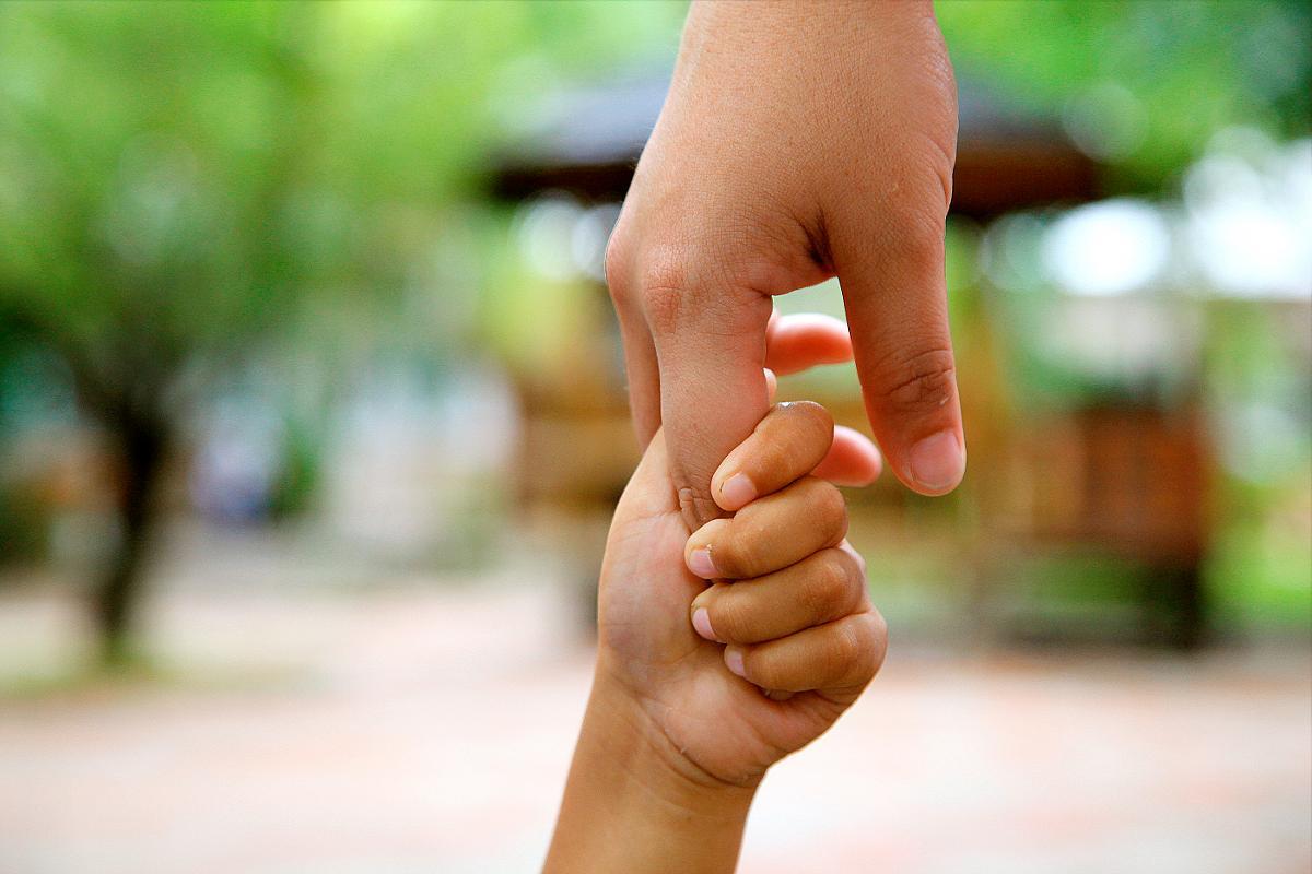 Kuva: Hyvää tekevä kosketus