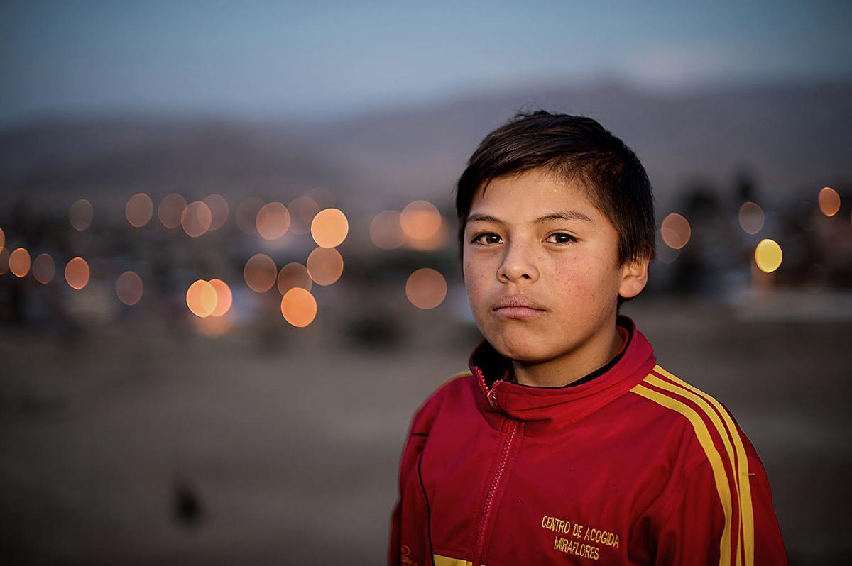 Kuva: Bolivialainen Edwin saa apua Kauneimmat Joululaulut -tilaisuuksien tuotosta.