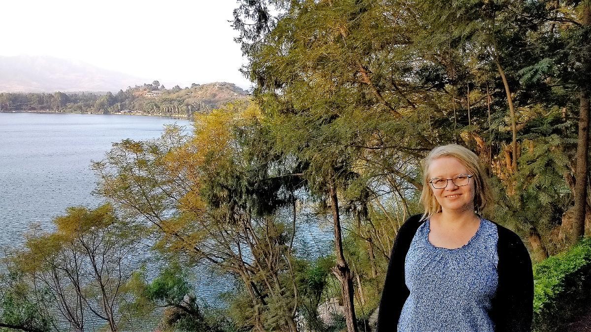 Kuva: Maria Karjalainen työskentelee lähetystyössä Etiopiassa.