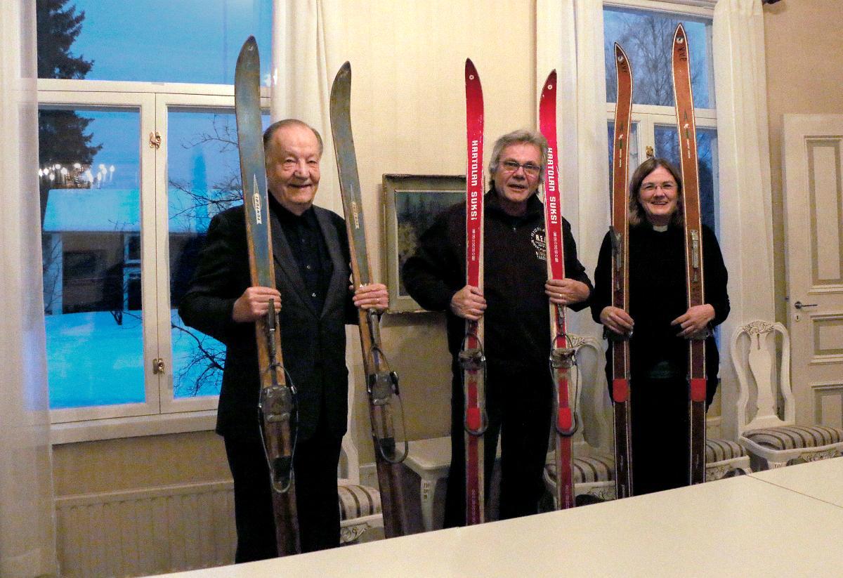 Kuva: Paavo Moilanen, Esko Pasanen ja Anu Fedotoff