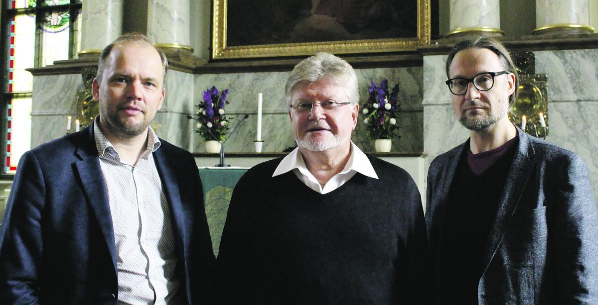 Kuva: Raimo Paaso, Samuel Salmi ja Markus Vaara