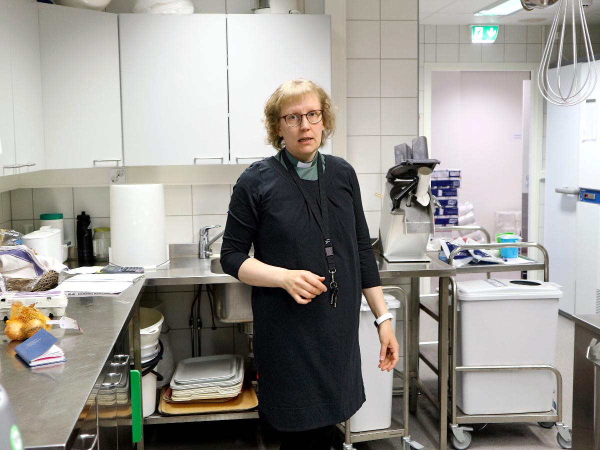Kuva: Heini Karhumaa Tyrnävän keittiössä.