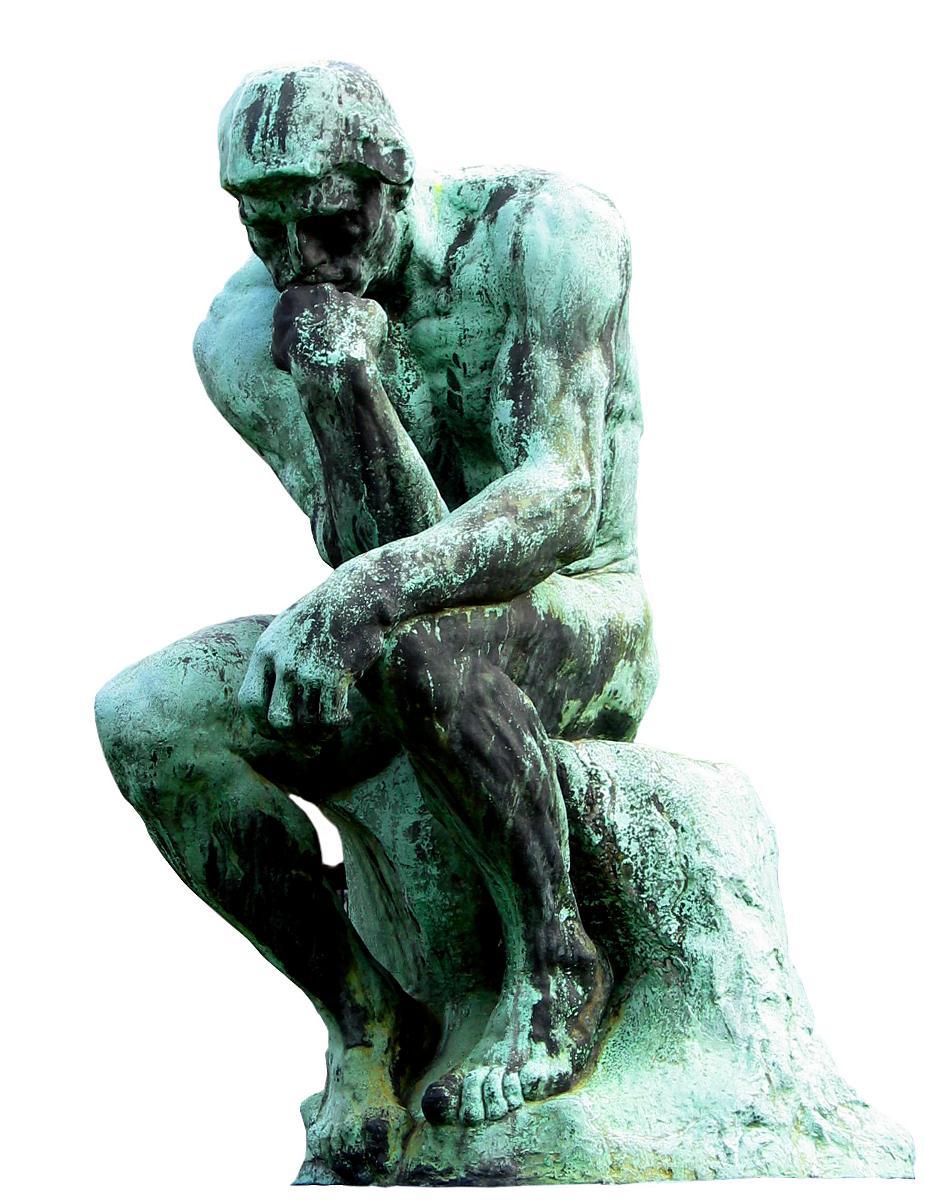 Kuva: Ajattelija-patsas