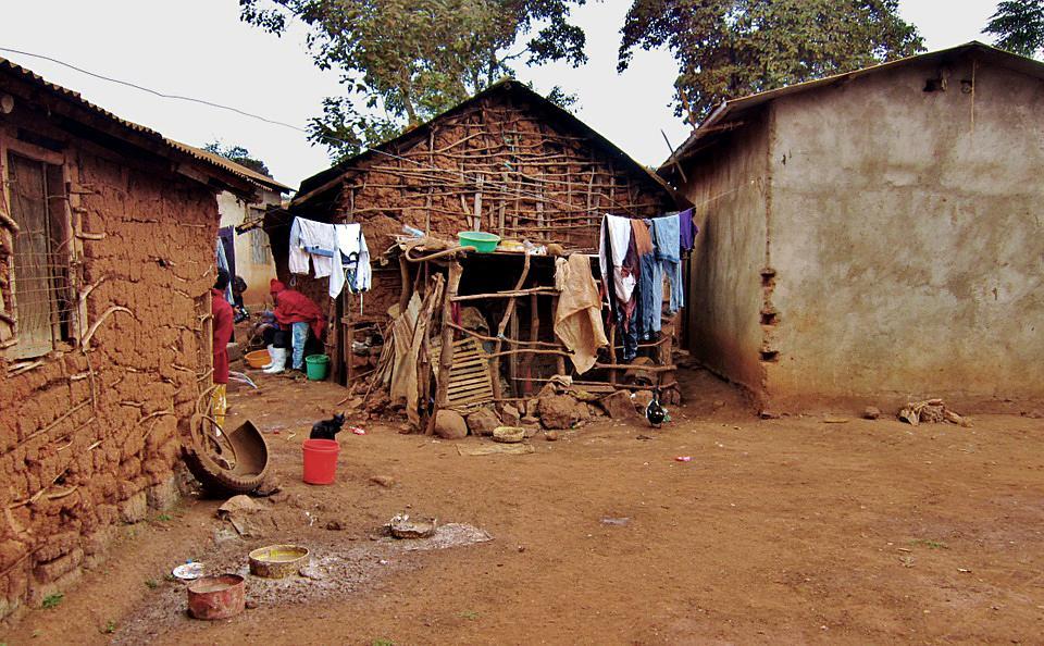 Kuva: Tansanialainen kylä
