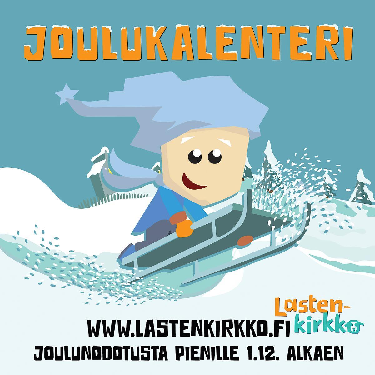 Kuva: Lastenkirkko.fi -sivuston joulukalenteri avautuu 1. joulukuuta.