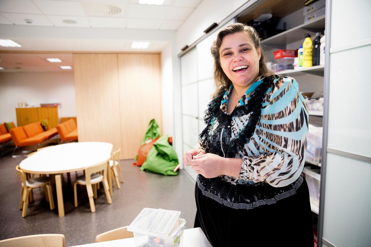 Kuva: Katja Huusko-Ahlgren, diakoniatyön harjoittelija Oulun seurakuntayhtymässä marraskuussa 2018. Rauhan Tervehdyksellä kertajulkaisuoikeus 2018.