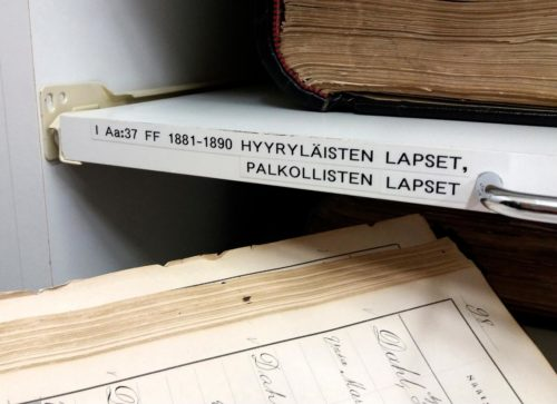 Kuva: Oulun keskusrekisterin arkistosta.