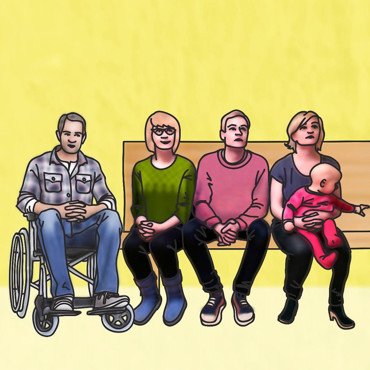 Kuva: Konfirmaatio / Seurakunta istuu