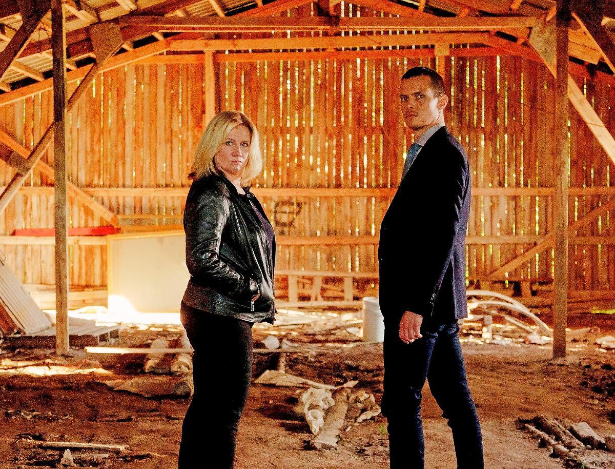 Kuva: Kaikki synnit -tv-sarja, Maria Sid ja Johannes Holopainen