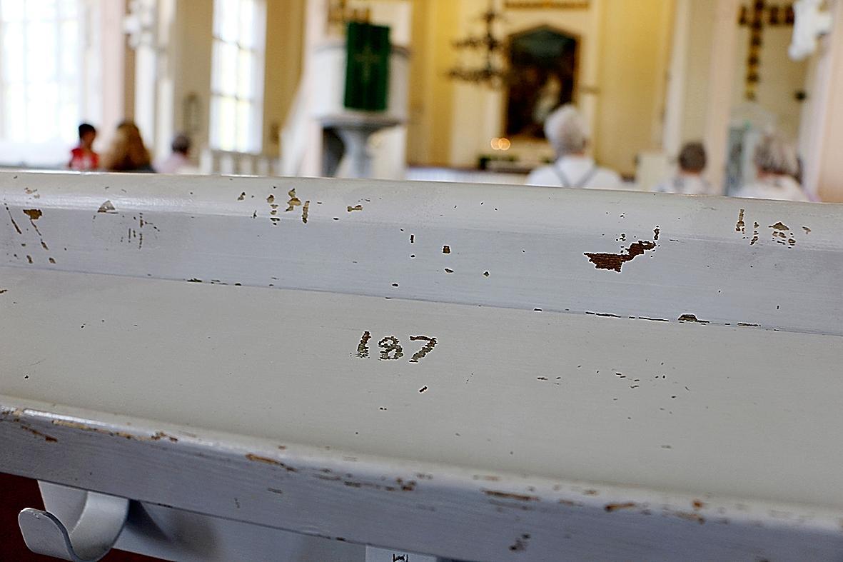 Kuva: Tyrnävän kirkko kaipaa remonttia.