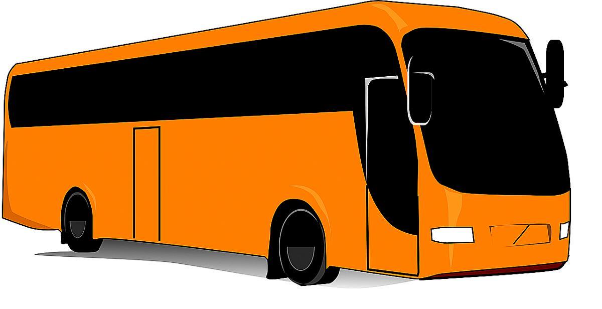 Kuva: Bussi matkalla